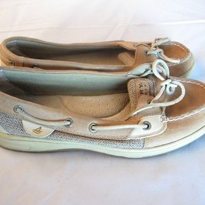 Sperry Top slider Angelfish Boat Shoes 8.5